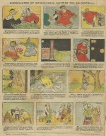 L'une des histoires en images illustrées par Dandurand.