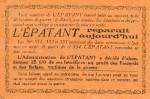 Encart en page 7 du n° 334 (10/12/1914).