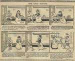 L'une des histoires en images illustrées par F. Lafon.
