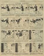 L'une des histoires en images illustrées par E. Tap/Rose Candide.