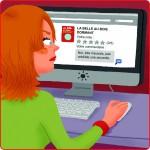 Princesse Libellule sur Internet