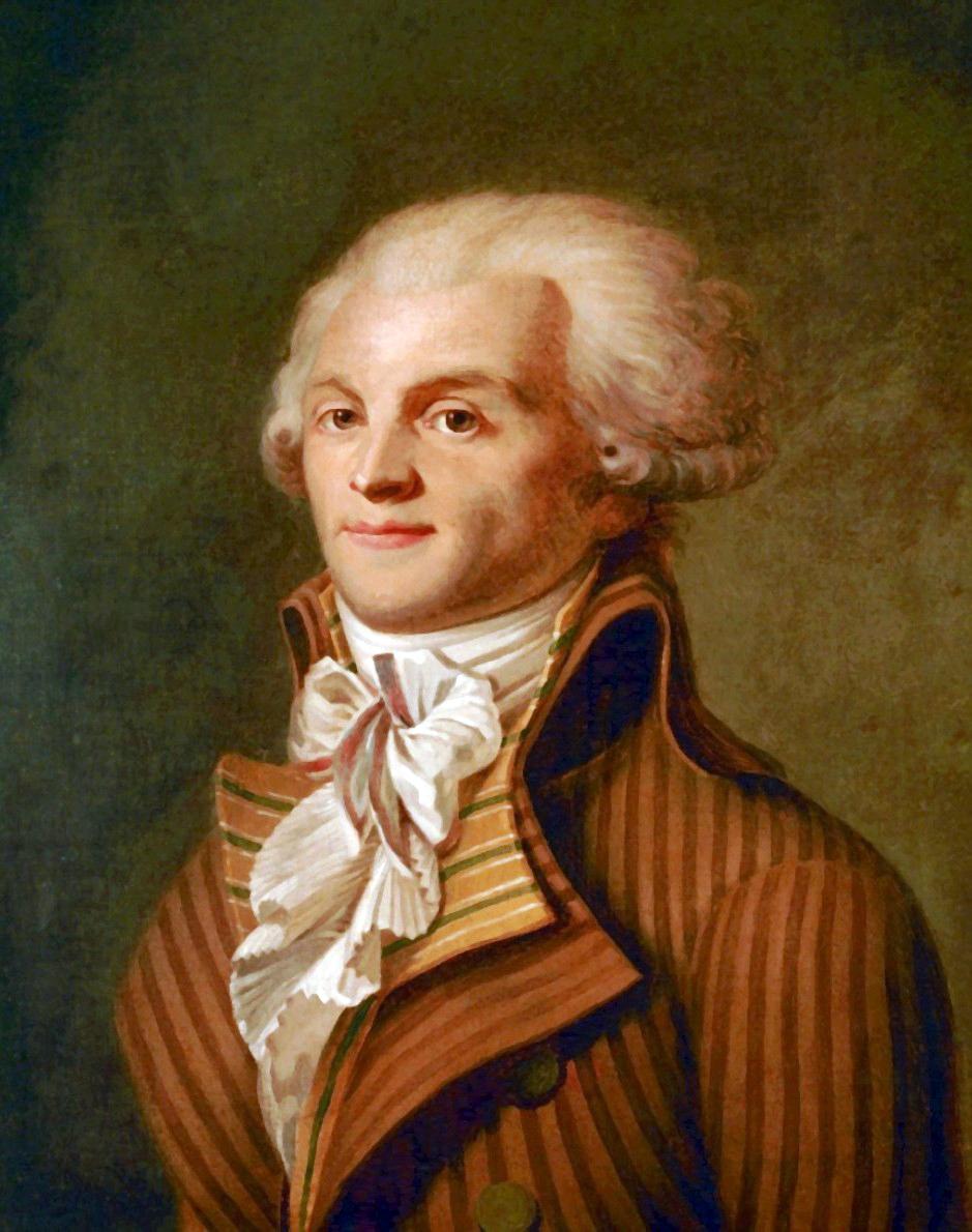 École française du XVIIIe siècle, Portrait de Maximilien Robespierre (Musée Carnavalet)