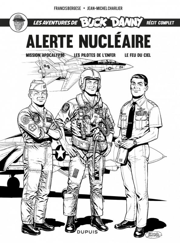 Illustration de Bergèse pour une republication de l'intégrale (ancien tome 13) des trois titres (Dupuis / Zéphyr Éditions, juin 2015)