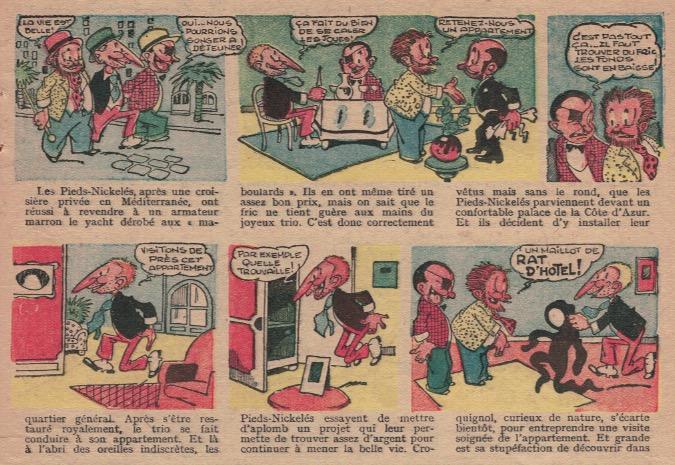 « Les Pieds nickelés » par Albert-Georges Badert.