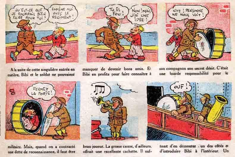 « Bibi Fricotin » par Gaston Callaud.