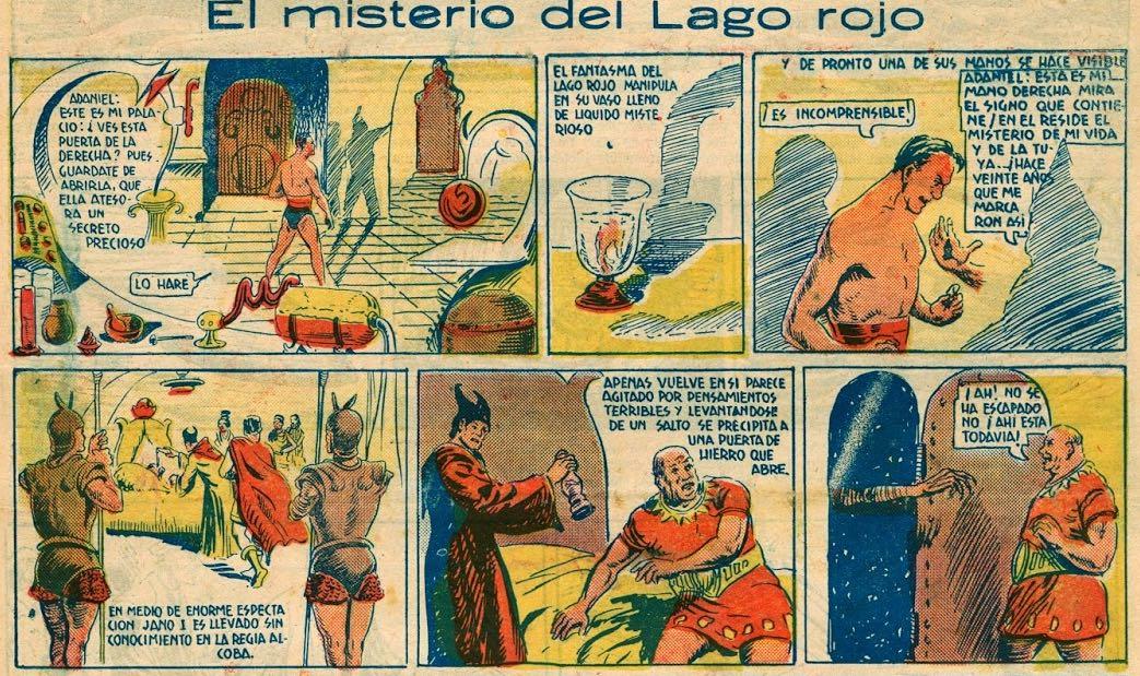« El Misterio del Lago rojo » par Francisco Darnis.