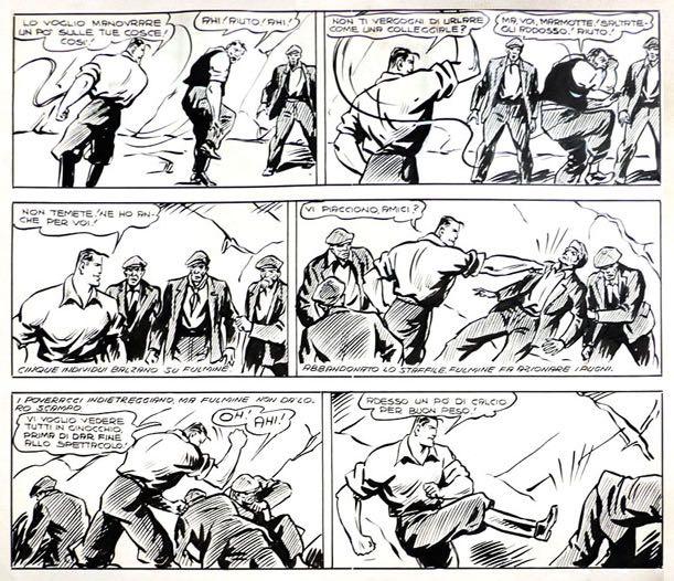 « Dick Fulmine » par Carlo Cossio et Vincenzo Baggioli.