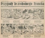 « Przygody Bezrobotnego Froncka » par Franciszek Struzik.