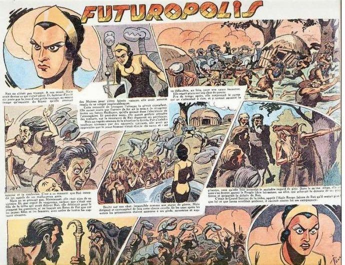 « Futuropolis » par René Pellos et Martial Cendres.