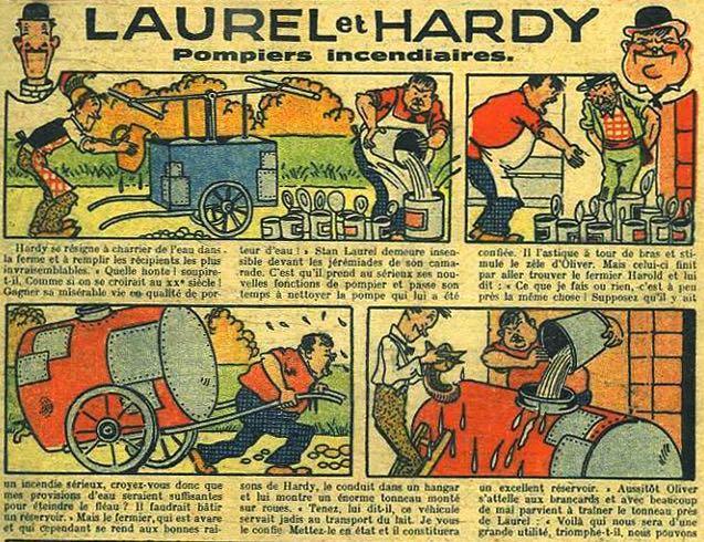 « Laurel et Hardy » par Mat.