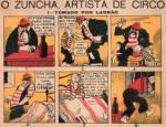 « O Zuncha, artista de circo » par Carlos Botelho.
