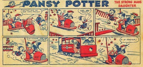 « Pansy Potter The Strongman's Daughter » par Hugh McNeill.