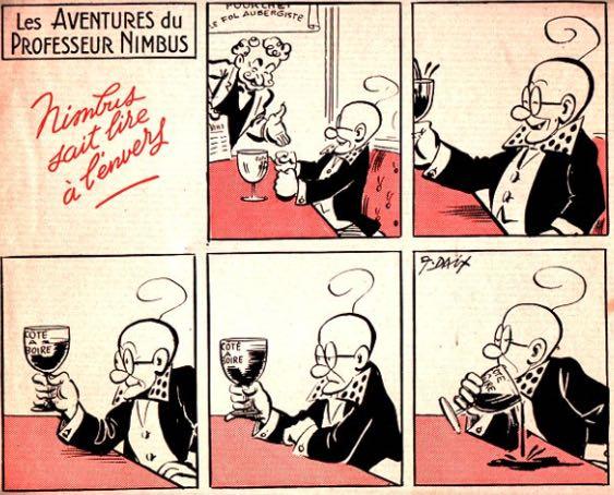 « Professeur Nimbus » par André Daix.