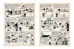 « Quick et Flupke » par Hergé.