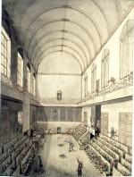 Vue de l'Assemblée législative au Manège le 10 août 1792, par Louis-Joseph Masquelier