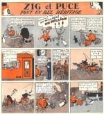 « Zig et Puce » par Alain Saint-Ogan.