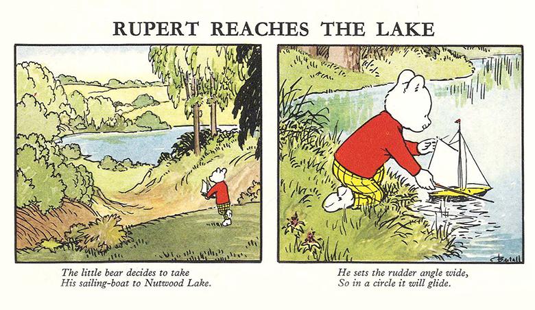 « Rupert Bear » par Alfred Bestall.