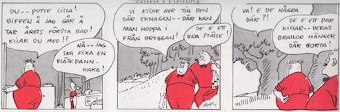 « Biffen och Bananen » par Rit-Ola.