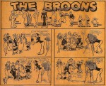 « The Broons » par Dudley Dexter Watkins et Robert Duncan Low.