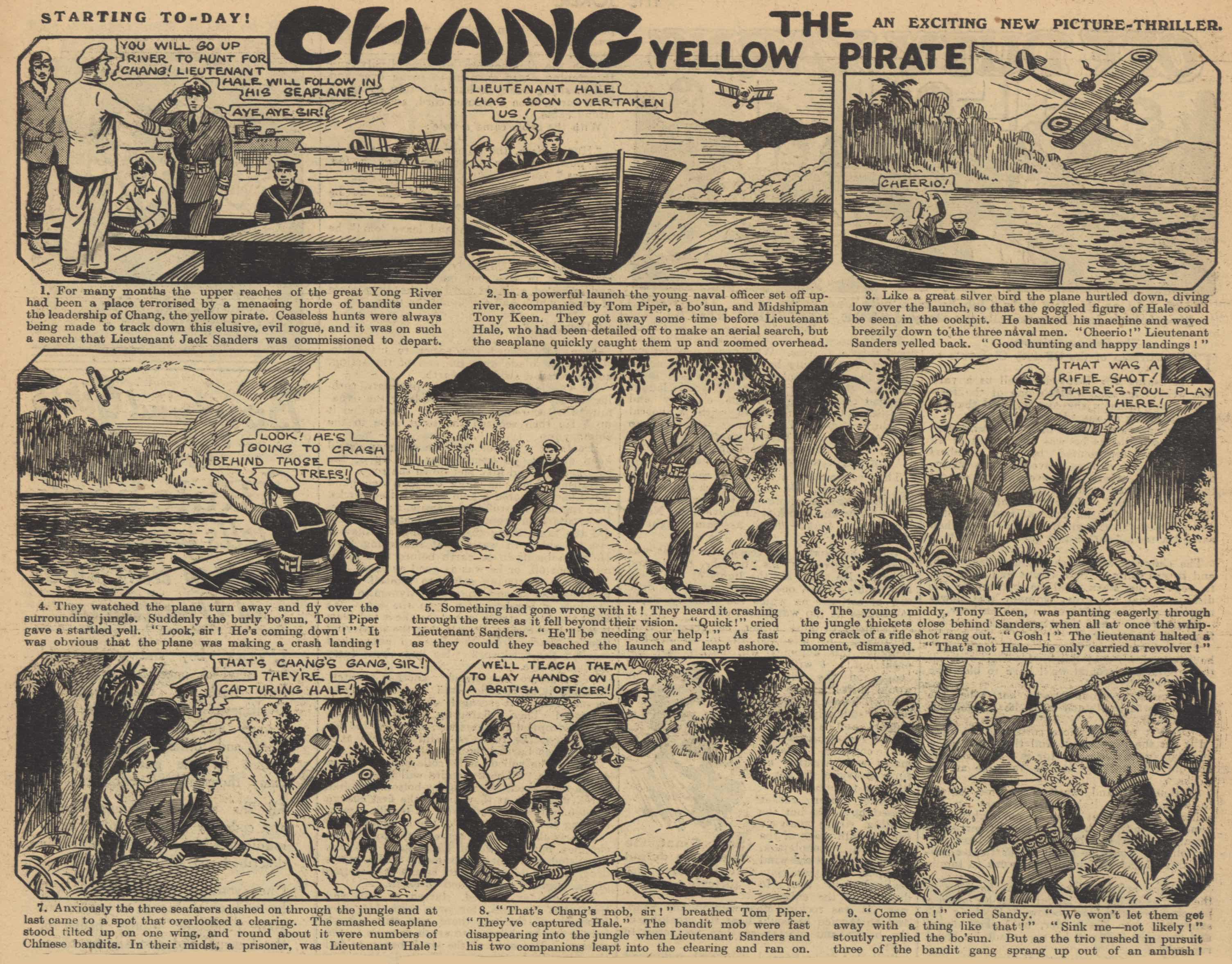 « Chang the Yellow Pirate » par Colin Merritt.