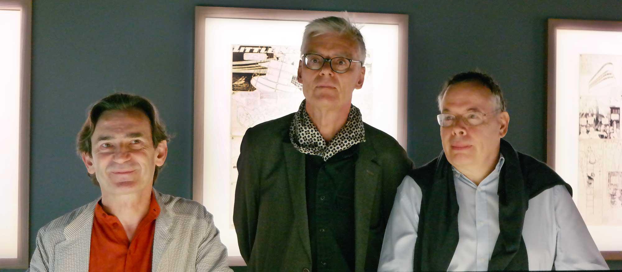 Les maitres d'oeuvre de cette exposition : Benois Peters, François Schuitten et