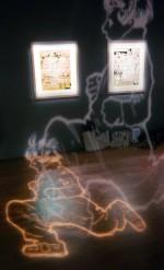 Un Nemo qui bouge grâce à la lumière accueil le public dès la première galerie.