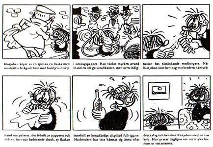 « Klotjohan » par Torvald Gahlin.
