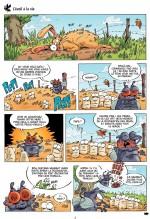 Les Insectes en bande dessinée T4 page 3