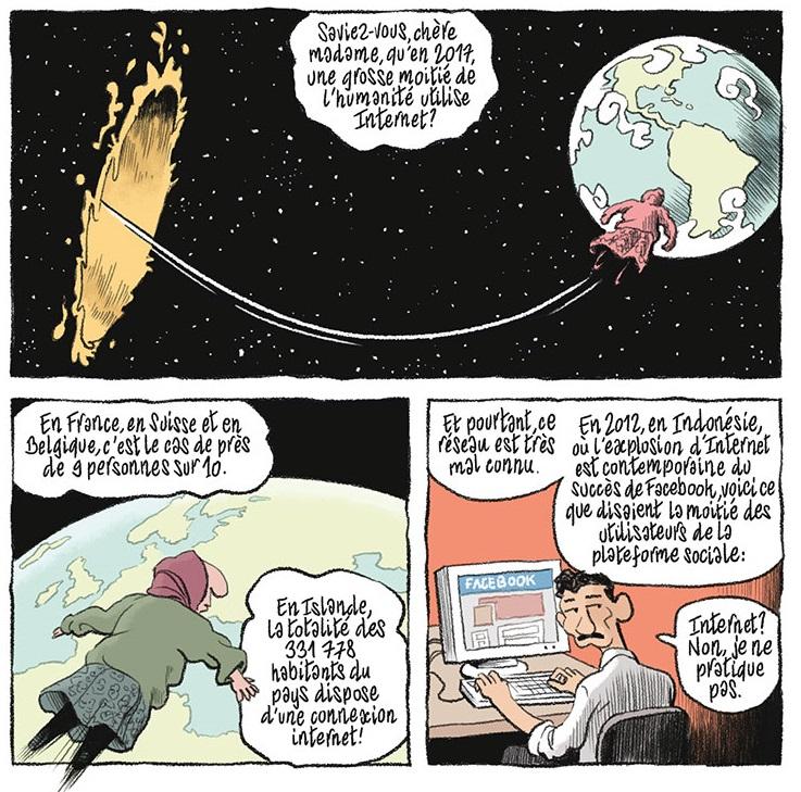 La Petite bédéthèque des Savoirs, Internet, bandeaux page 14