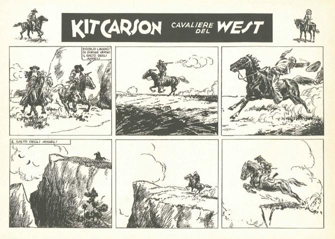 « Kit Carson » par Rino Albertarelli.