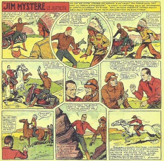 « Jim Mystère » par Bob Dan.