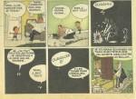 Page du « Petit Nicolas » en bande dessinée, publiée dans Le Moustique, en 1955.