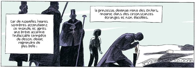 Perséphone, bandeau page 6