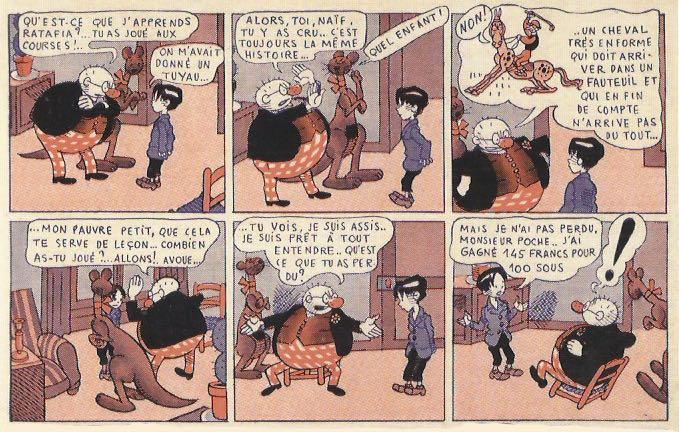 « Monsieur Poche » par Alain Saint-Ogan.