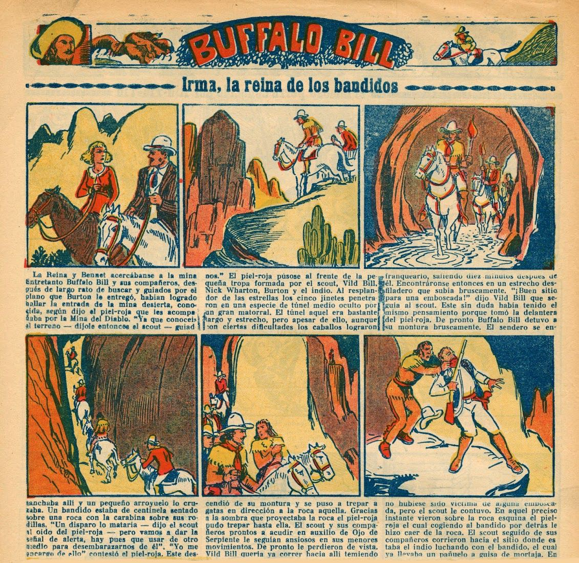 « Buffalo Bill » par Marc Farrell.