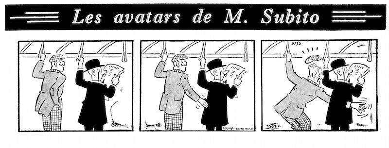 « M. Subito » par Bozz.