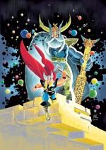 Le magnifique poster de Laurent Lefeuvre offert aux souscripteurs de l'ouvrage.