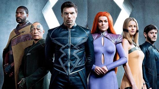 Extrait de la série TV « Inhumans ».
