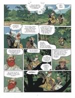 Une Croisade fort bien orchestrée ! (Planche 3 - Dargaud 2017)