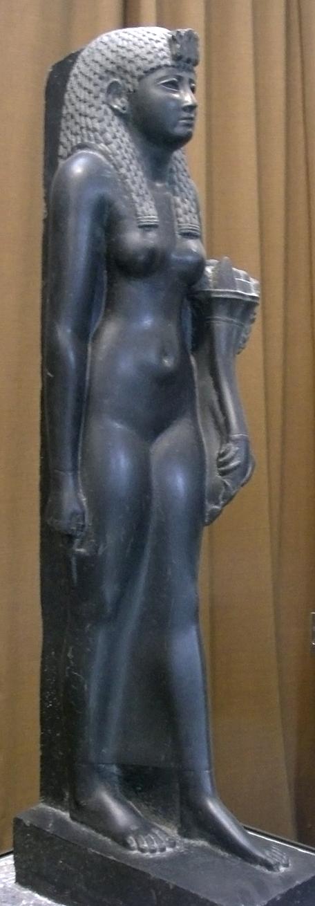 Statue de la reine Cléopâtre VII, moitié du Ier siècle (Musée de l'Ermitage, Saint-Saint-Pétersbourg)