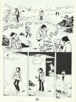L'une des premières BD de Michel Plessix en solo, publiées dans le fanzine Dommage, en janvier 1984.