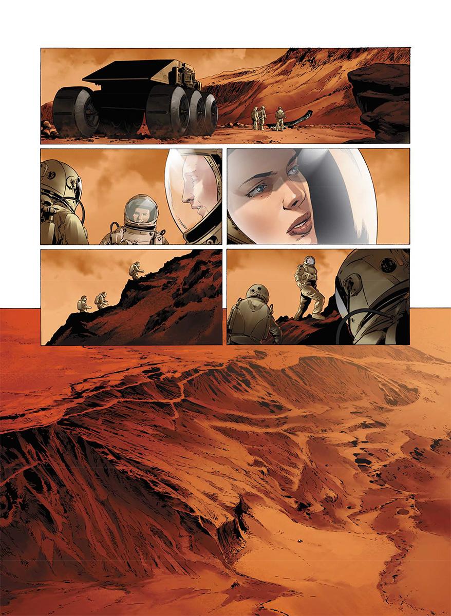 Seuls sur Mars... (Soleil 2017)