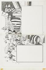 Dessin original de Ramón Monzón pour Amis-Coop, en 1979.