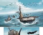 Forces navales (extrait de la planche 29 du tome 2 - Soleil 2017)