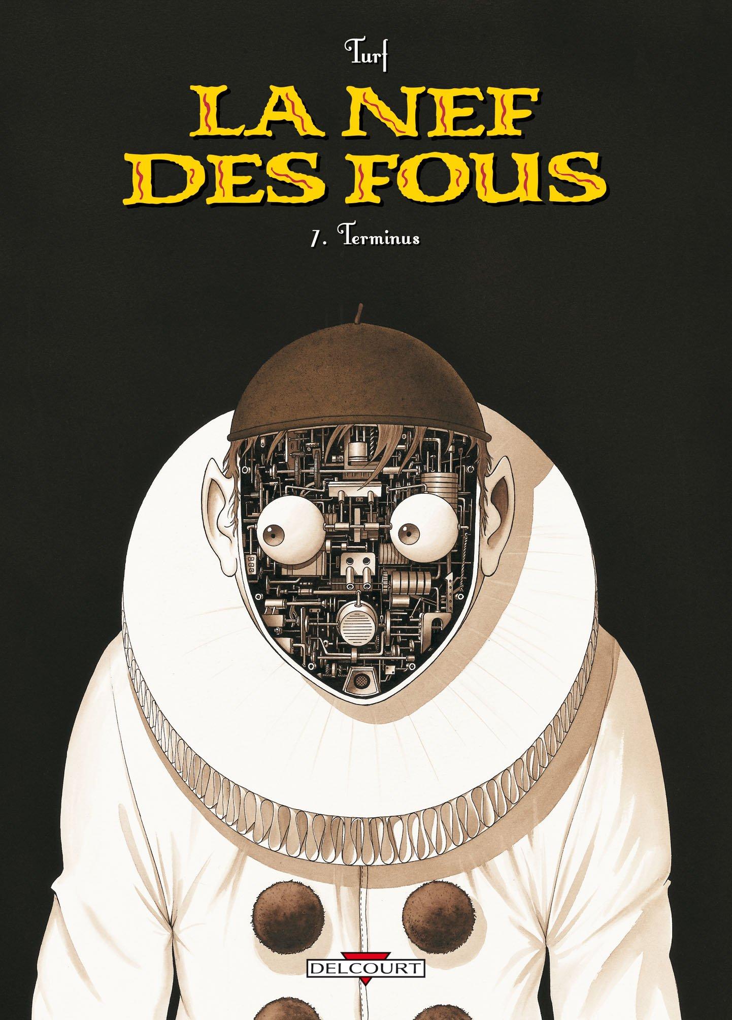 Une folle mécanique (couverture pour le tome 7 en 2009)
