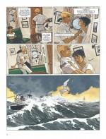 Tangage et bastingage sont dans un navire (planche 4 - Dargaud 2017)
