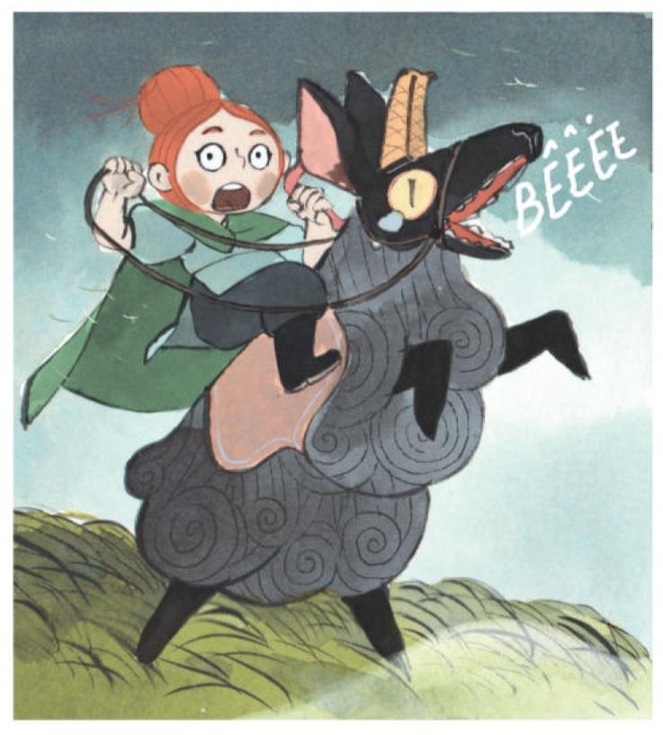 Molly, la bergère guerrière sur Barbe Noire