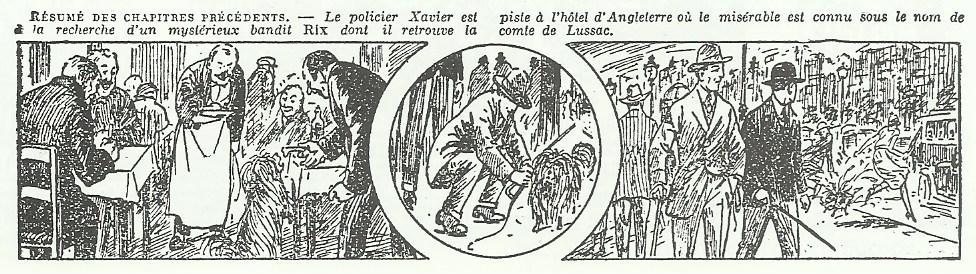 « Rix, l'homme du mystère ».