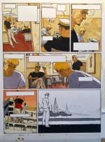 Conception de la planche 27 (Ligne Claire et P. Jusseaume/ J.C. Kraehn)