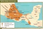 Carte de l'empire aztèque et reconstitution de la ville de Tenochtitlan